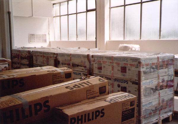 Güterlager für Elektronikteile